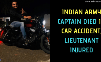 Indian Army Captain Chaitanya Keshav Sharma and Lieutenant Dixit Bali