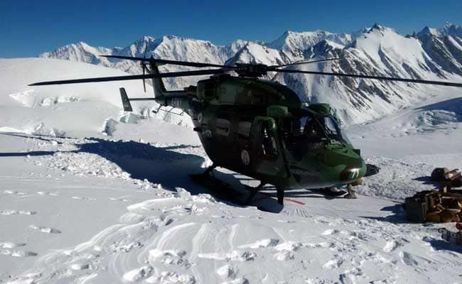 Indian air force siachen glacier air base