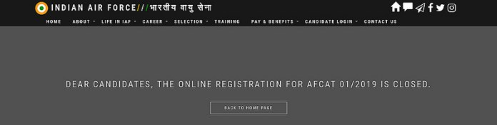 AFCAT 1 2019 Admit Card Released