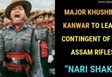 Major Khushboo Kanwar