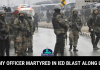 Major Chitresh Singh Bisht Martyred In IED Blast