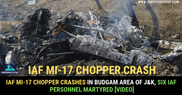 IAF Mi-17 Chopper Crash