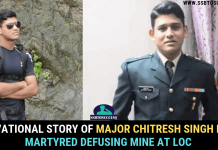 Major Chitresh Singh Bisht martyred