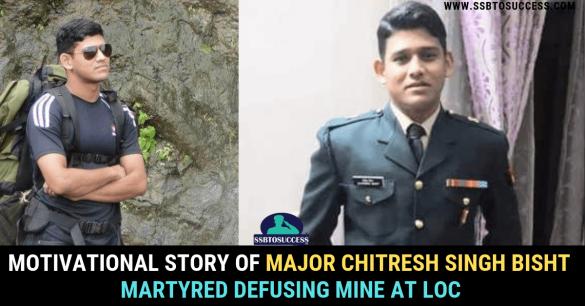 Major Chitresh Singh Bisht martyred