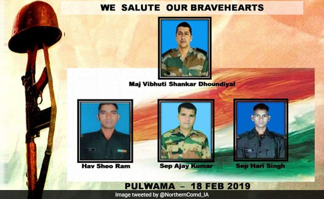 Pulwma Encounter Martyrs