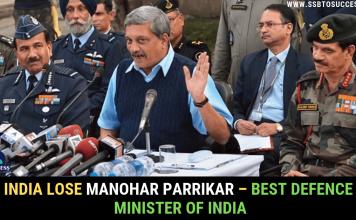 Manohar Parrikar – Best Defence Minister