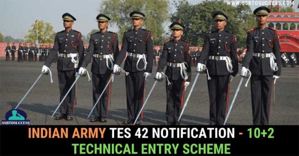 Indian Army TES 42 Notification