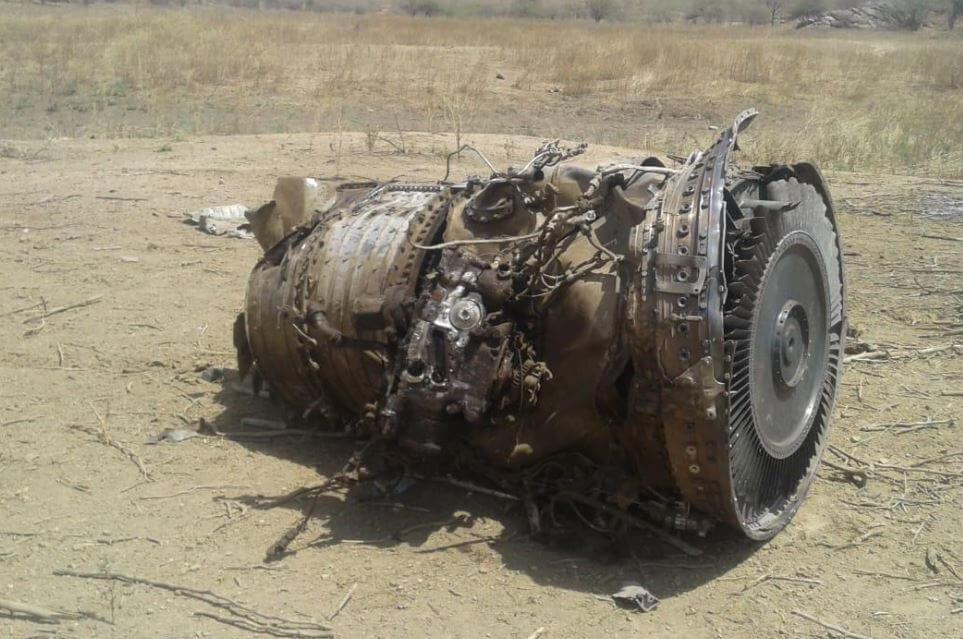Mig 27 Crash Turbine