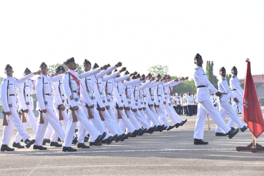 NDA Passing Out Parade 2019 Photo - POP Parade March