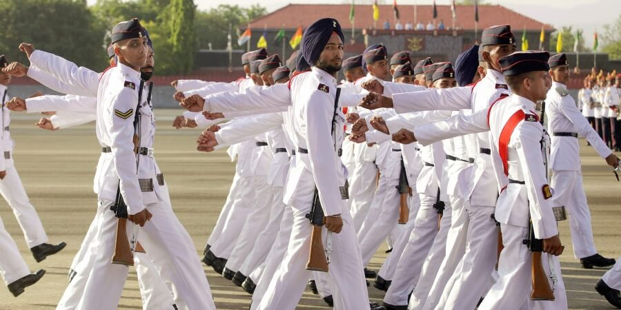 NDA Passing Out Parade 2019 Photo - POP March