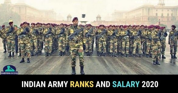 Indian army rank wise salary 2020