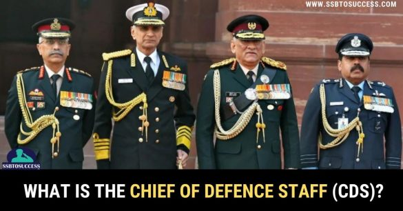 What is the Chief of Defence Staff (CDS)?