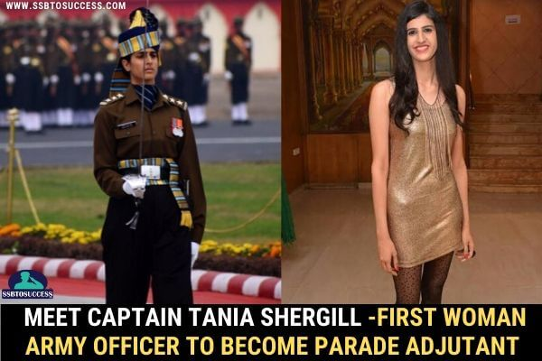 Meet Captain Tania Shergill -First Woman Army Officer to Become Parade Adjutant