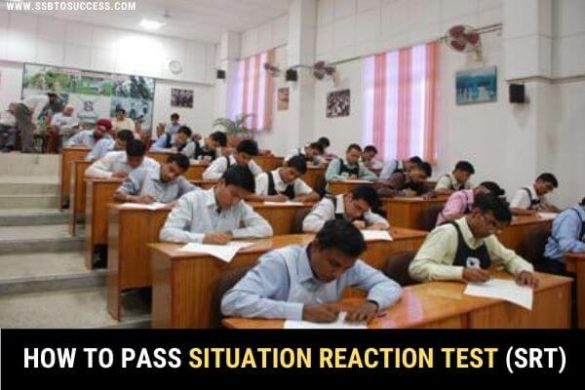 How to Pass Situation Reaction Test (SRT) in SSB