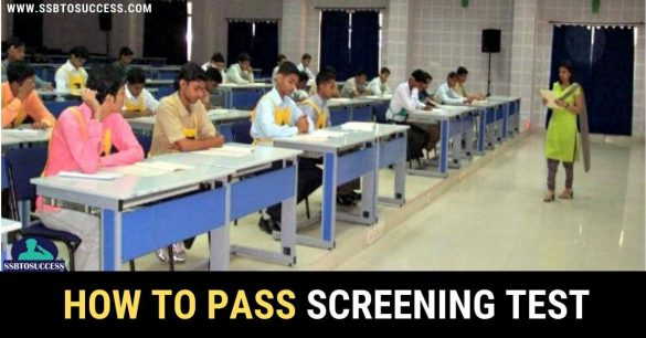 Pass Screening Test In SSB [PPDT]