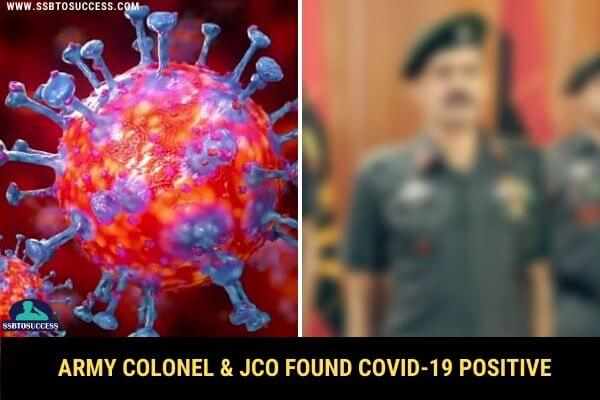Indian Army Colonel COVID-19 Positive