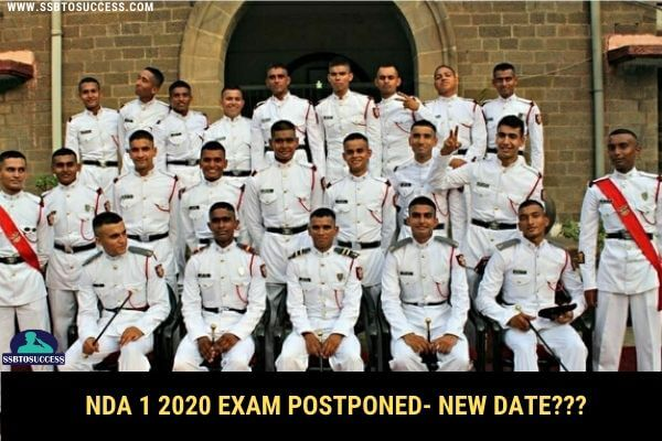 NDA Exam 2020 Postponed