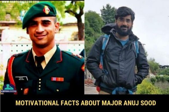 Motivational Facts about Major Anuj Sood