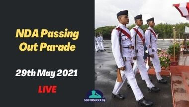 National Defence Academy Passing Out Parade 29th May 2021