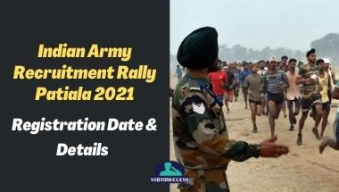 Indian Army Recruitment Rally Patiala 2021