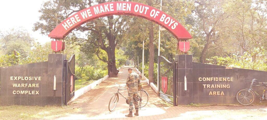 Training at Commando School Belgaum