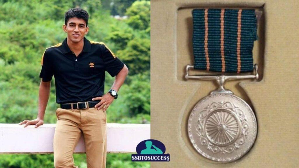 Shaurya Chakra Awardee Captain Ashutosh Kumar