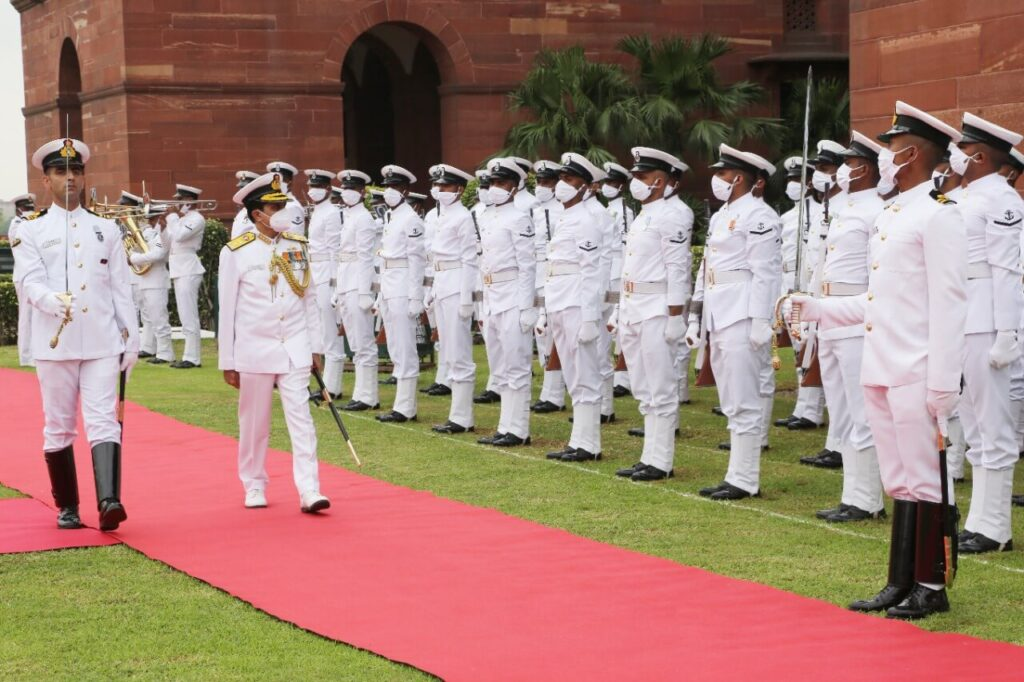 Vice Admiral SN Ghormade Indian Navy