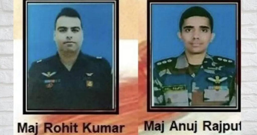Major Rohit Kumar and Major Anuj Rajput