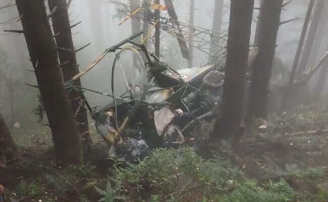 Helicopter Crash in Udhampur