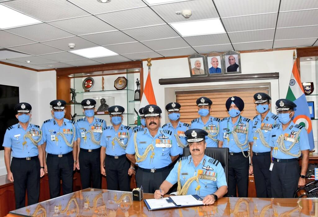 New Air Chief Marshal VR Chaudhari Taking Charge On 30 September