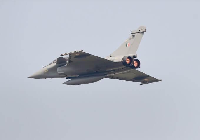 Indian Air Force (IAF)'s Light Combat Aircraft (LCA) Tejas