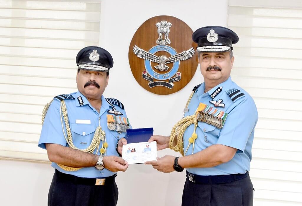 New Air Chief Mshl VR Chaudhari Taking Charge From Air Chief Mshl RKS Bhadauria